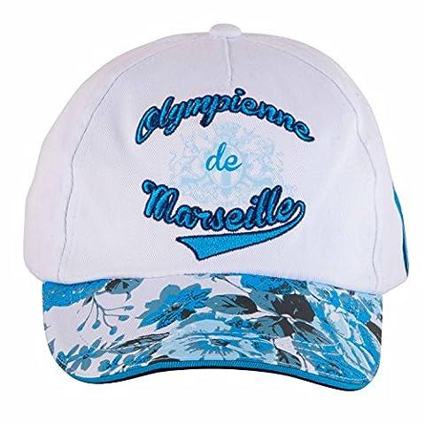 Casquette olympienne OM - Collection officielle Olympique de Marseille