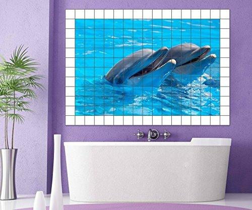 delfines-adhesivo-de-azulejo-15-10-25-20-cm-imagen-de-azulejos-delfin-agua-mar-animales-baldosas-adh