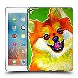Offizielle DawgArt Pomeranian Tiger Hunde 2 Soft Gel Hülle für Apple iPad Pro 9.7