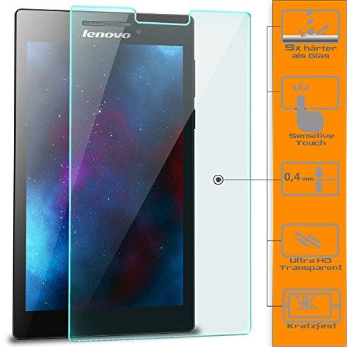 Saxonia 1x Bildschirmschutzglas für Lenovo Tab 2 A7-30