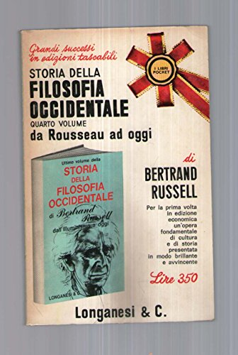 Storia della filosofia occidentale - IV vol. - Bertrand Russell - 1^EDLonganesi - Amazon Libri