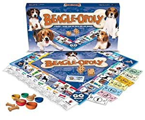 BEAGLE-OPOLY (Monopoly Style Board Game for Beagles & their humans!)