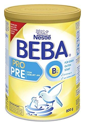 Preisvergleich Produktbild BEBA PRO Pre Anfangsmilch - von Geburt an, 4er Pack (4 x 800 g)