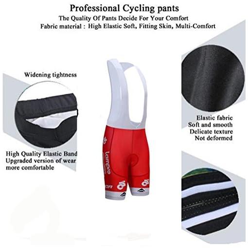 summerest Costumi da Ciclismo per Uomini–Uniforme da Bicicletta a Maniche Corte Traspirante