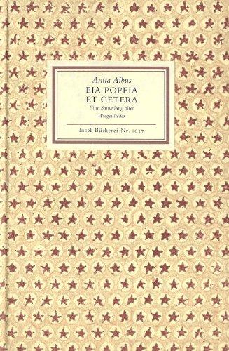 Eia Popeia et Cetera. Eine Sammlung alter Wiegenlieder