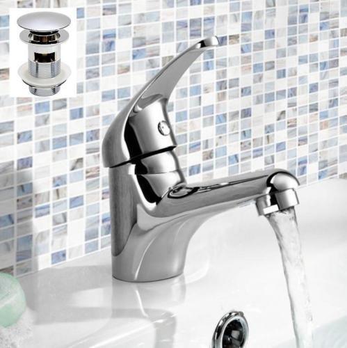 Generic NV 1001003618 _ _ _ _ _ _ _ _ yc-uk2 pipesin classique robinet en laiton massif évier salle de bain Classe P sol Mitigeur lavabo vidage ass P Wast Flexi Tuyau bathroo