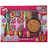 VSHINE Pizza Set With Backery And Kitchen Accessories Role Play Toy For Kids