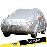 ERQINGCZ Wasserdichte Autoabdeckung Voller Auto-Abdeckung SUV Anti-Uvregen Sun-Schnee-Frost-Beständiger Abdeckungs-Sonnenschutz Staubdicht Für Porsche