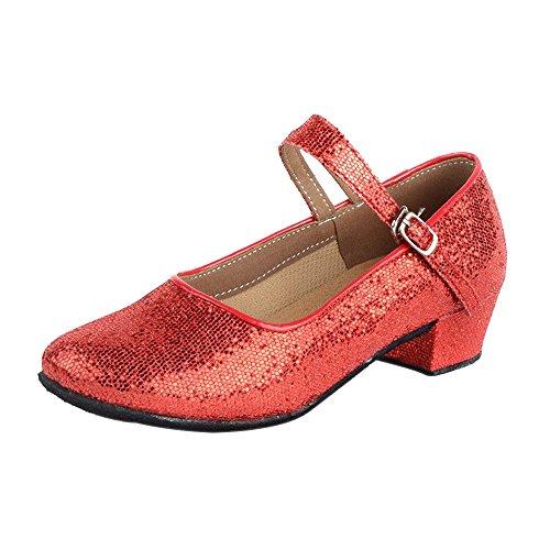 Xiuhong Shop sexy sencillo Boca baja mujer zapatos de tacón alto (EU36, verde)