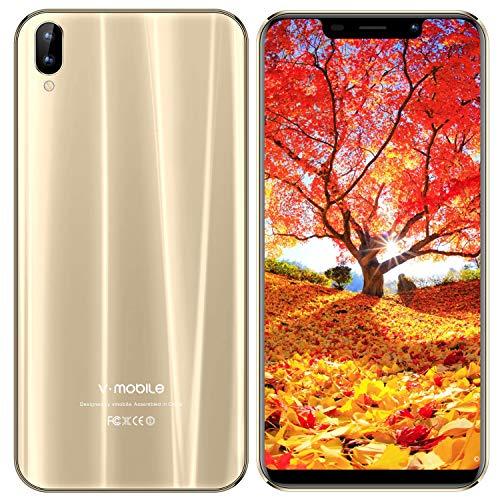 Smartphone Libres 32GB ROM 3GB RAM Android 7 Quad Core Ofertas del Dia Face ID V mobile XS Pro Moviles Libres 5.85''HD+...