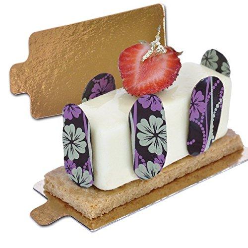 deco relief gateaux onglets/Mince Cake onglets Bélier X 5.5 cm Doré 1,2 mm d'épaisseur 40 onglets par lot