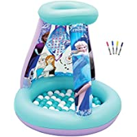 Frozen Disney Color and Playland with Balls and Markers