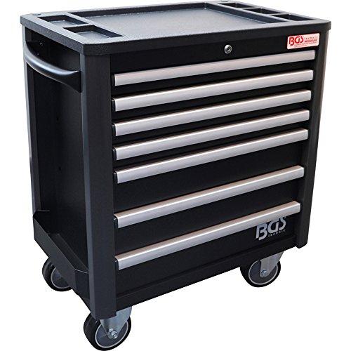 BGS Profi Werkstattwagen leer mit 7 Schubladen und geringer Bauhöhe