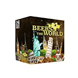 BOX BEERS OF THE WORLD MONUMENTS 24 BIERES + 1 VERRES