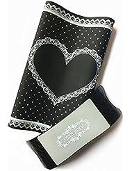 Nail art pliable lavable Tapis de table en silicone avec la main Taie d'oreiller Salon Manicure Outil