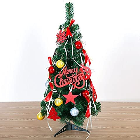 Addobbi natale Desktop pacchetto regalo ornamento di Natale albero di Natale 90cm ordinaria Addobbi Natale Natale forniture Festival ,rosso
