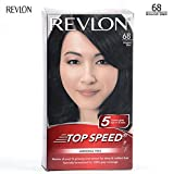#10: Revlon Top Speed Hair Color Woman 68 Brownish Black