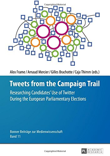 Tweets from the Campaign Trail: Researching Candidates' Use of Twitter During the European Parliamentary Elections (Bonner Beiträge zur Medienwissenschaft, Band 11)