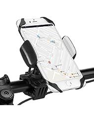 Fahrrad Handyhalterung,Furado Universal Fahrrad Motorrad Halter,Verstellbare Handyhalter Fahrrad mit 360-Grad-Drehung für iPhone,Android und GPS-Gerät