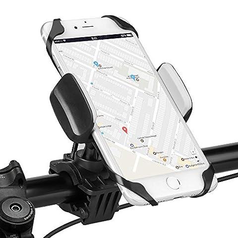 Fahrrad Handyhalterung, Furado Universal Fahrradhalterung Handyhalterung, Verstellbare Handyhalter Fahrrad mit 360-Grad-Drehung für iPhone, Android und