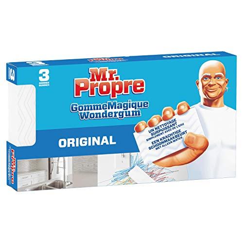 Mr. Propre Gomme Magique Original Nettoie Comme Par Magie 3 Unités