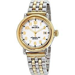 Shinola The Runwell Reloj de Mujer Cuarzo 36mm Caja de Acero 10000237