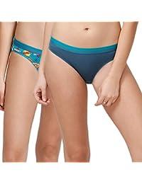 Zivame Women's Animated Bikini (Pack of 2)