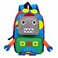 TeMan Nursery Children Toddler Backpack Rucksacks Kindergarten Cartoon Schoolbag for Kids Baby