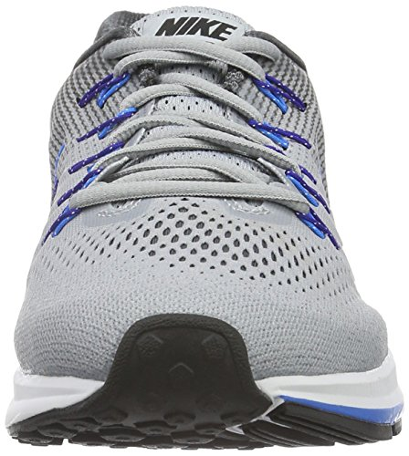 Nike Herren Air Zoom Pegasus 33 (W) Laufschuhe Grau (Wolf Grey/Black-Dark Grey)