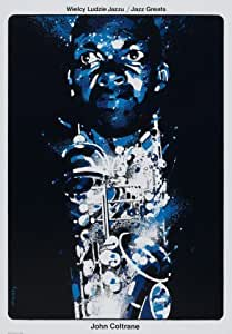John Coltrane affiche de photo reproduction 40x30cms