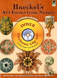 Haeckel's Art Forms from Nature CD-ROM and Book (Dover Electronic Clip Art) by Ernst Haeckel (2004-09-09)