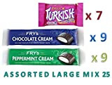 Fry's ASSORTED LARGE MIX 25 | 9 x CHOCOLATE Cream | 9 x...