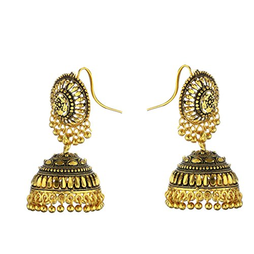 Pchalk Designer Jewellery Gold Plated Partywear Collection Earring For Women