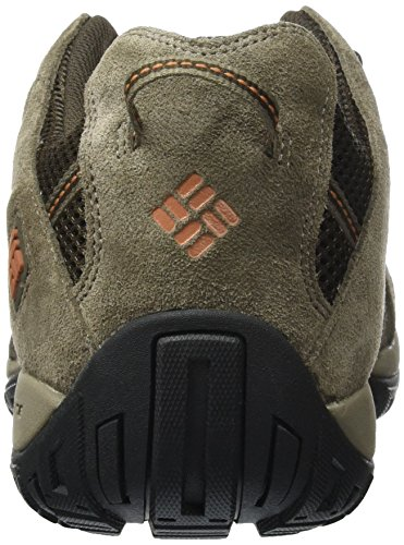 Columbia Redmond, Chaussures de Randonnée Basses Homme Marron (Cordovan/ Dark Ginger)