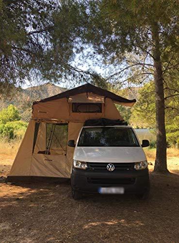 Wrangler defender off road LR Challenge 4x4 neues 3-Personen-Zeltdach für Zelte mit Markise und Matratze anbieten zu können