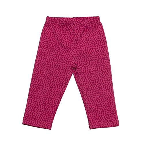 SALT AND PEPPER Baby-Mädchen B Legging Smart Owl Allover, Rosa (Rasberry 875), 68