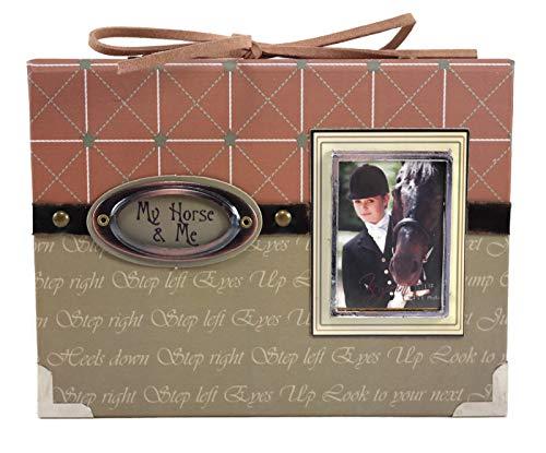 Keypoint Mini-Fotoalbum mit Pferdemotiv My Horse and Me, für 24 Fotos à 10 x 15 cm