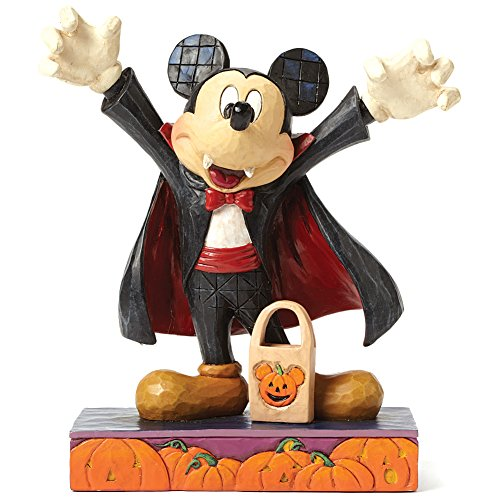 Halloween Disney Tradition Jim Shore Mickey Mouse Vampirfigur ()