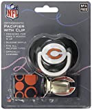 Chicago Bears Blue Infant Pacifier and Pacifier Clip - NFL Baby Fanatic Combo Set