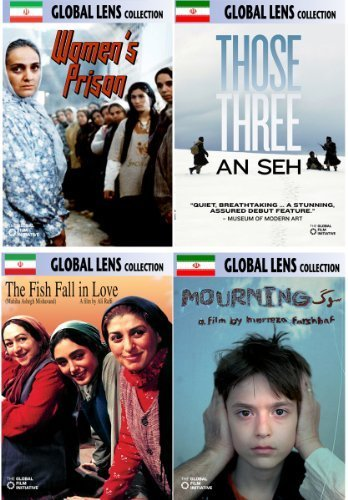 Global Lens - The Best of World Cinema - Iran Volume 2 - 4 DVD Collector's Edition by Roya Taymourian