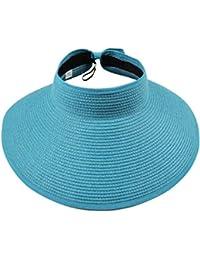 5f1656e961339 Damas Sombrero para El Sol Elegante De Sombrero Verano Protección Bastante  Sombrero De Playa Plegable Ocio