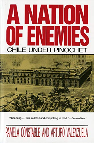 A Nation of Enemies - Chile Under Pinochet (Paper) (Norton Paperback)