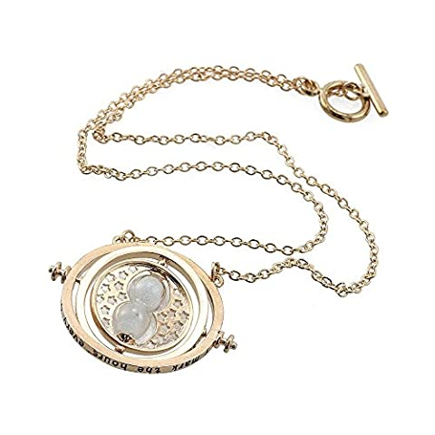 Harry Potter Hermione's Time Turner Hourglass Pendant Necklace