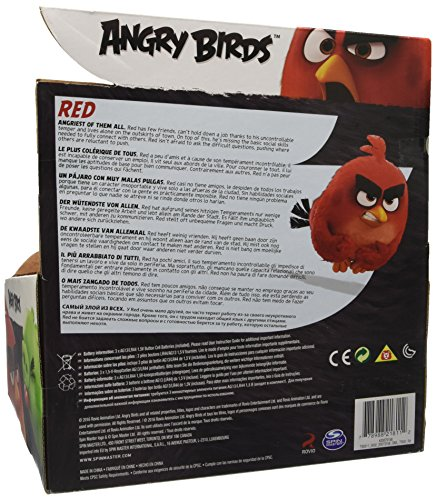 Image of Angry Birds 12-Inch Talking Plush Toy (Red)