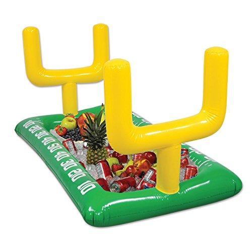 asbar Fußball Bereich Buffet Kühler, 71,1cm X 4'14,6cm grün/gelb/weiß (Fußball-aufblasbare Kühler)