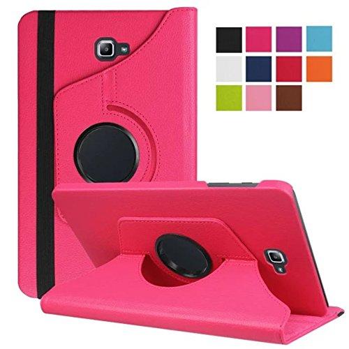 Hülle für Samsung Galaxy Tab A SM-T580 SM-T585 10.1 Zoll Schutzhülle Etui Tablet Tasche Smart Cover (Pink) NEU