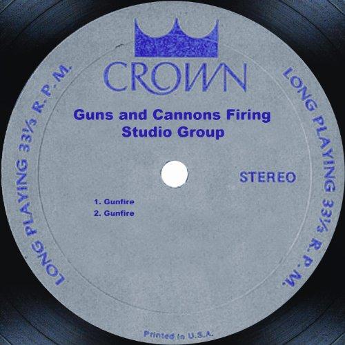 Kaboom! Guns and Cannons Firing -