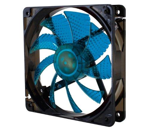 NOX NXCFAN120LBL - Ventilador para caja de ordenador, 120 x 120 mm, co