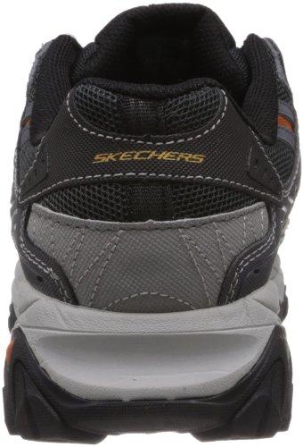 Skechers Sport Hommes de flamme résiduelle formateurs Chaussures Tailles 4E Extra Large Largeur Charbon