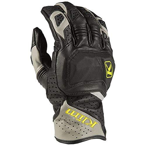 Good Leather off Road Guanti Moto,Unisex Adulto Full Finger Guanti Moto Moto Motocross Guanti Protezione Nero/Verde XXL